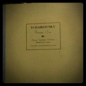TCHAIKOVSKY NUTCRACKER SUITE 3 ALBUM SET